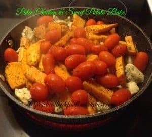 Paleo Chicken & Sweet Potato Bake