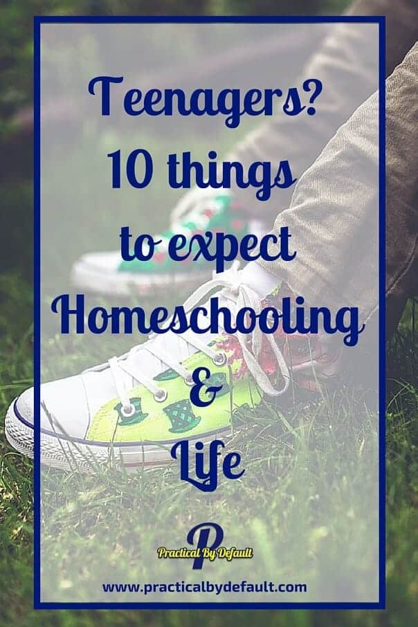 Are you living with a teenager? Or even homeschooling a teenager? Sharing 10 things to expect!