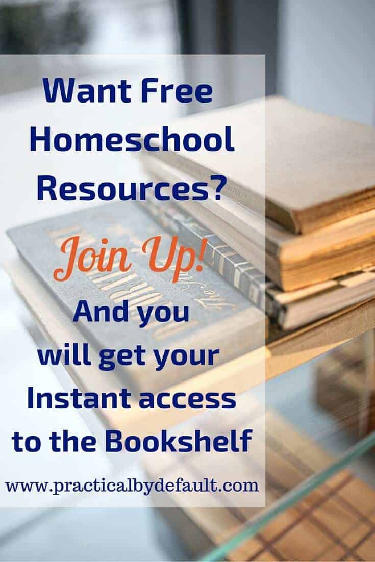Busy homeschooling parents save time and money by signing up for free homeschool resources! Get yours now!