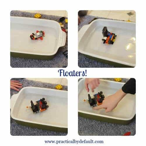 Floaters of Lego Challenge