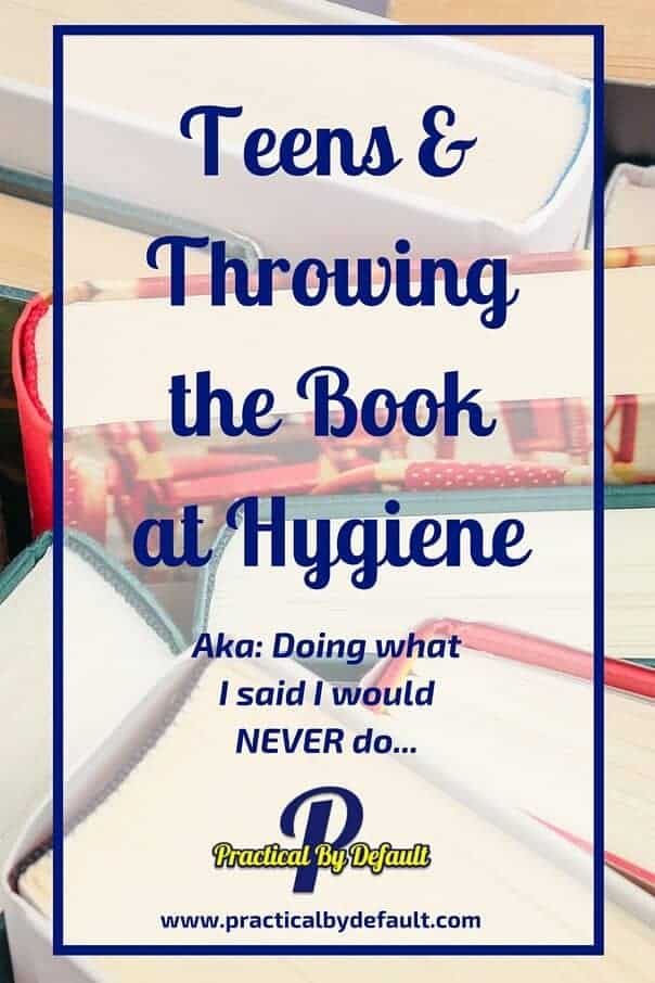 Trying to talk about hygiene with your teens but not getting anywhere? Two amazing books that can reach them.