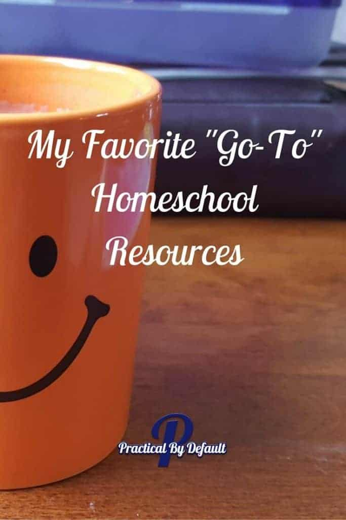 The 3 resources I wouldn't want to homeschool without, read more!