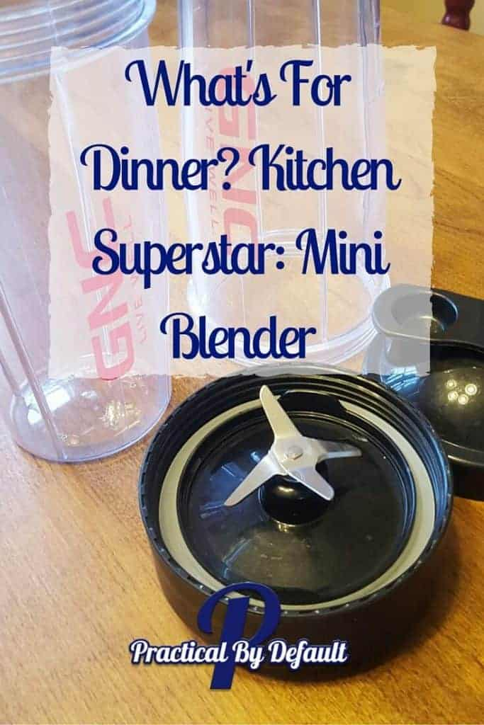 Love my GNC mini blender. Click through to learn why plus 3 recipes!