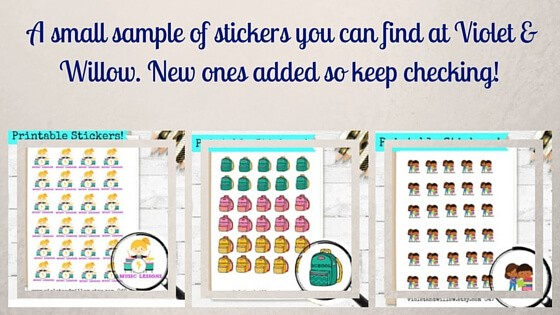 Do you love planner stickers? Check these out!