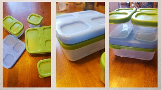 My very favorite lunch food storage container.
