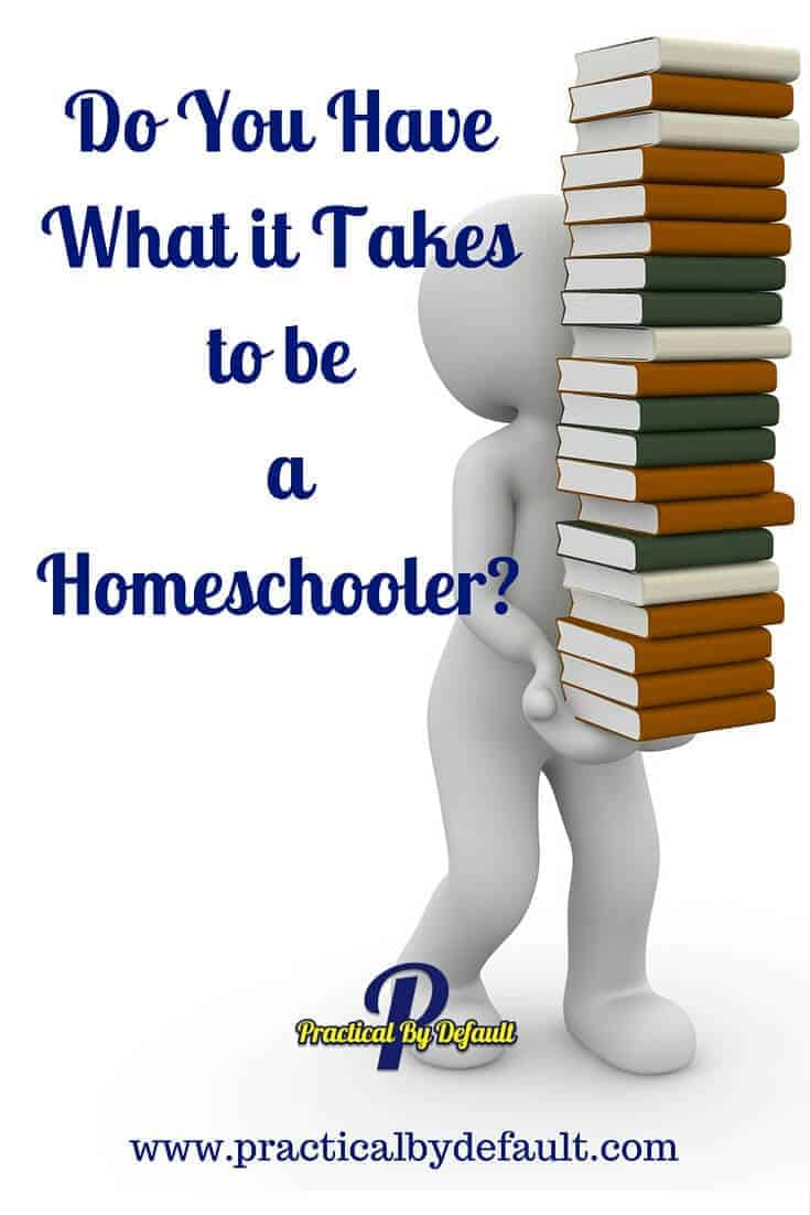 Want to know what it takes to be a homeschooler? Click through to hear what homeschoolers say you need in order to be successful at homeschooling
