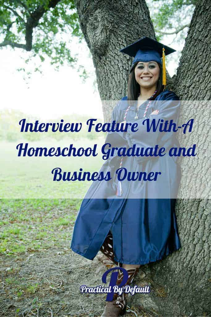 Getting the answers to all our burning questions! Jenn is letting us know what it is like to be a homeschool grad, and much more!