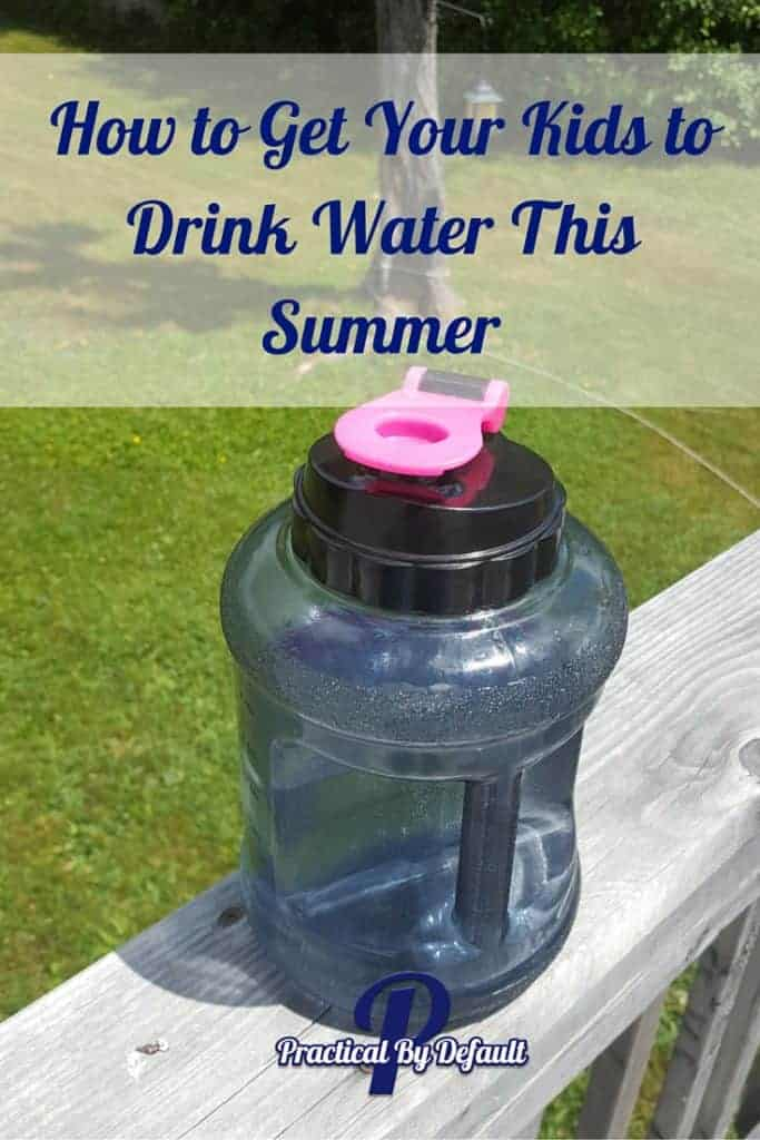 Super cool mug for kids helps them drink water this summer!