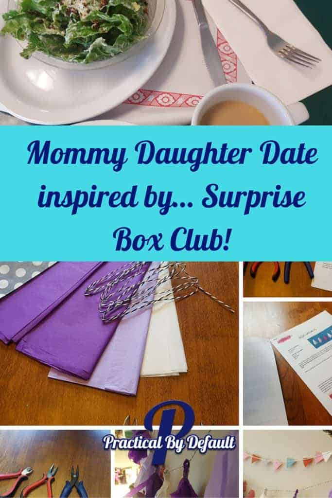 Our Mommy Daughter Date inspired by Surprise Box Club