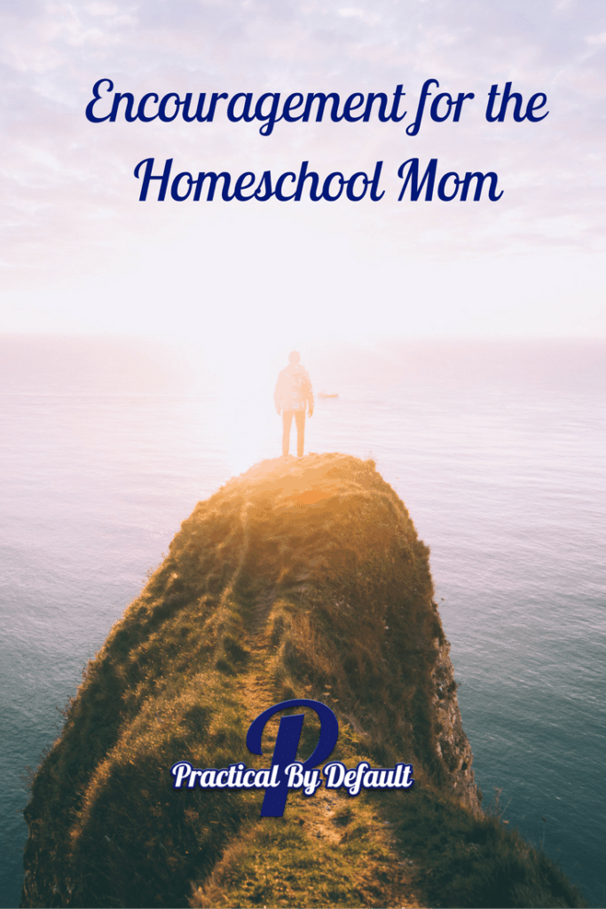 You are not alone, encouragement for the homeschool mom