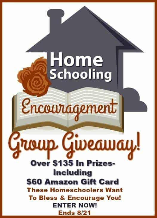 20 Days Homeschool Giveaway!
