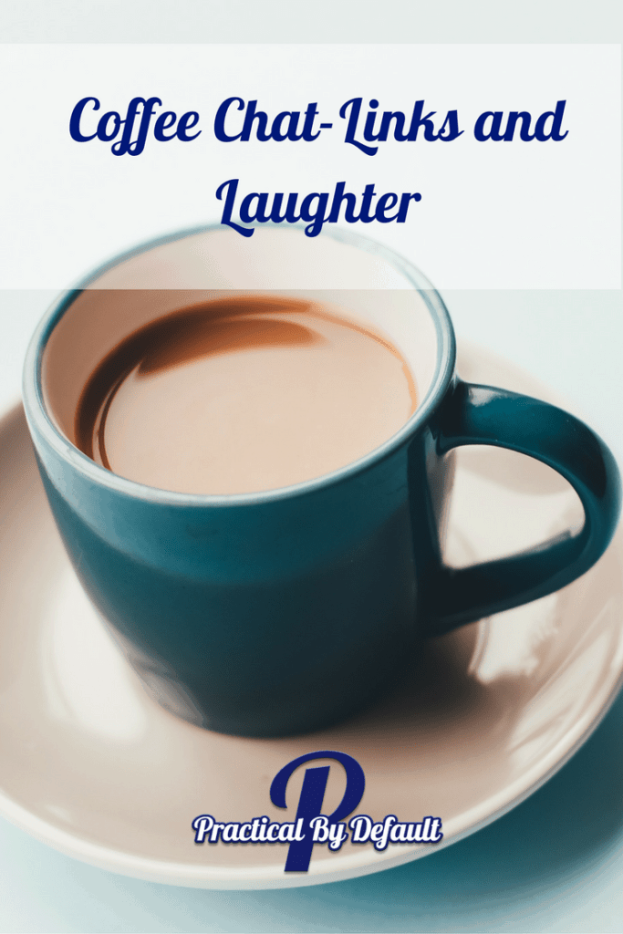 Round up post of homeschooling links and laughter. Grab a coffee and come chat with me