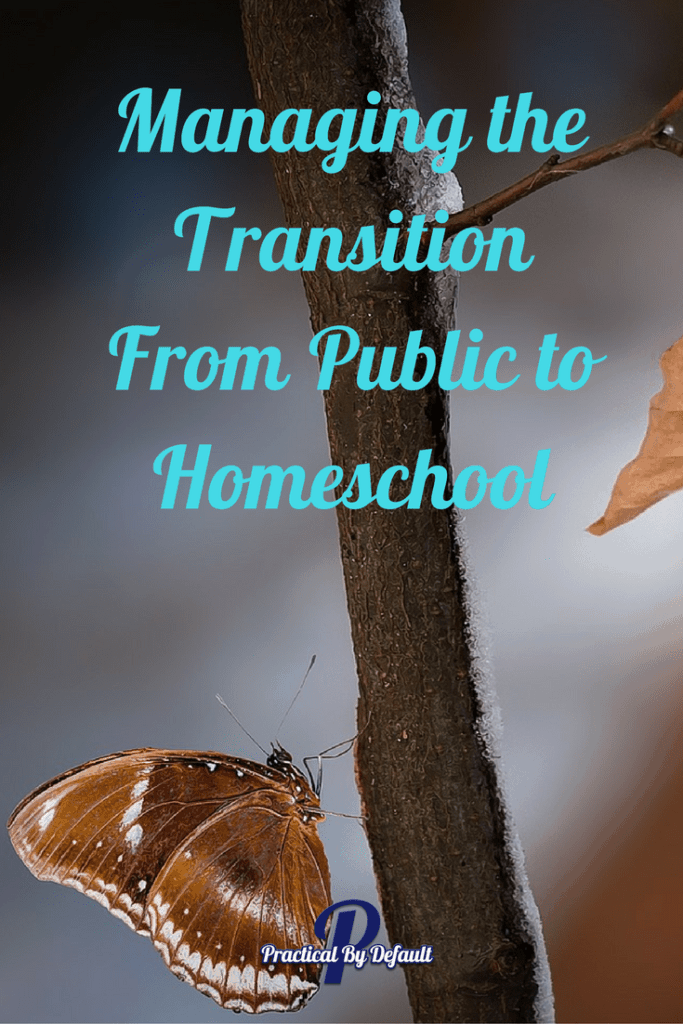 Managing the Transition From Public to Homeschool