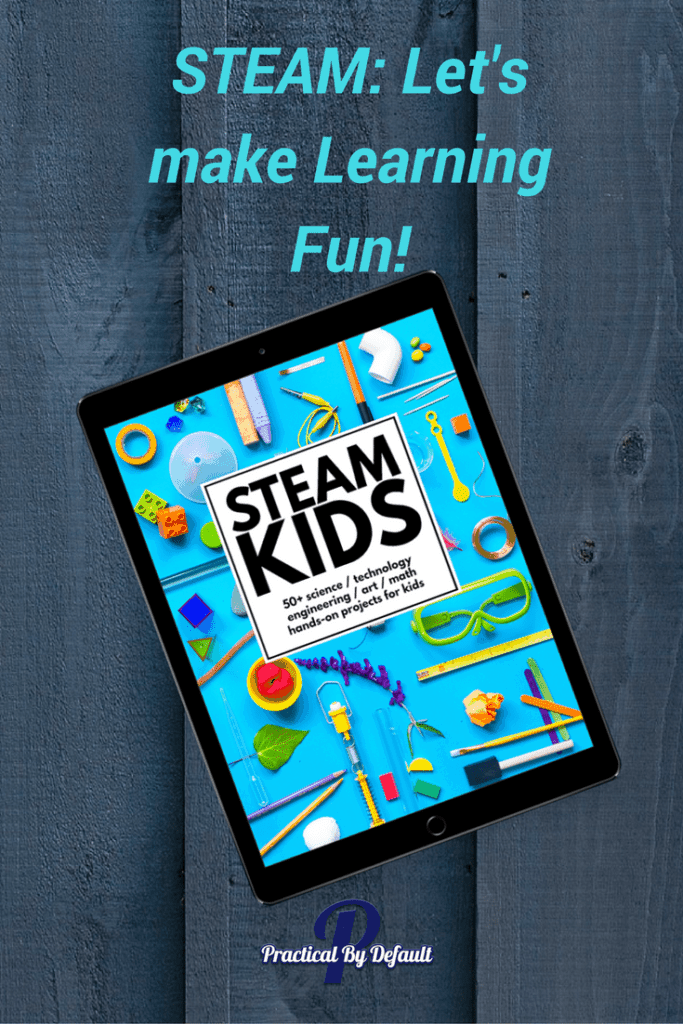How this working homeschool mom is bring fun back to learning by Using STEAM KIDS