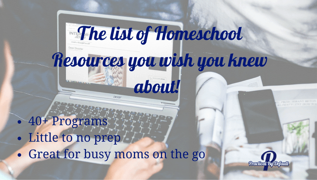The perfect curriculum resources for the working homeschool mom
