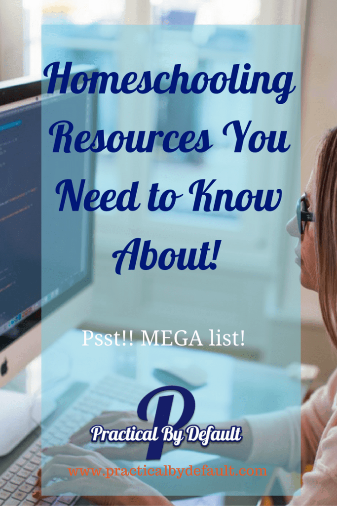 Homeschooling Resources You Need to Know About!-Mega List