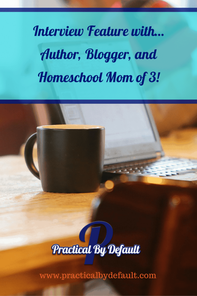 Chatting with homeschool mom, author, working mom and mom of 3, she's answering all our questions!
