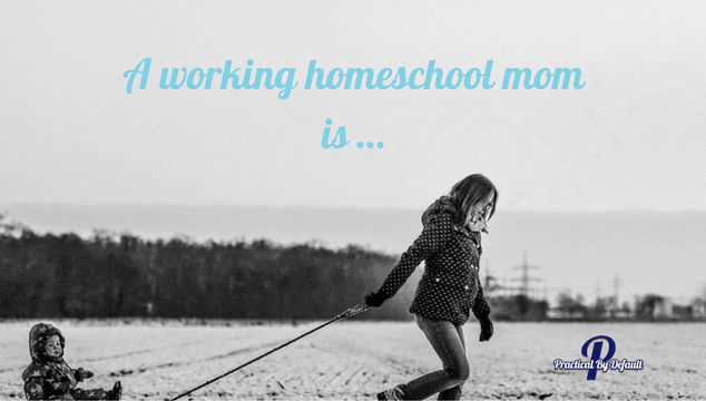 Are you a working homeschool mom? Does it matter?