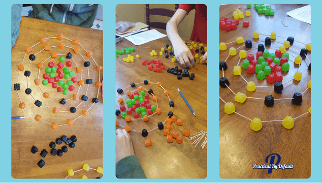 Creating atoms with candy!